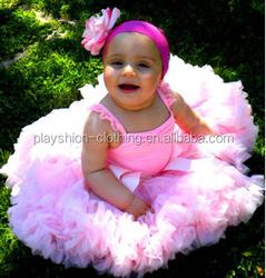 new children girl pink net tutu dress baby girl party dress children frocks designs