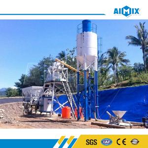 Fabricación superior 25m3 mini Readymix planta coste concreto