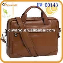 leather laptop case with interior organizer for pens