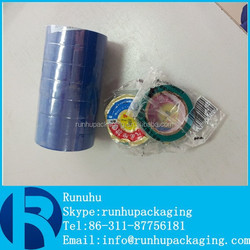 made in china blue pvc tape ,blue pvc insulation tape,blue pvc electrical tape