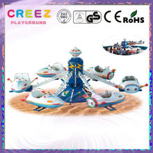 Super quality branded merry go round carousel with trailer