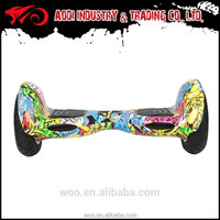 Hot-Selling 36v lithium battery 2 wheel auto balance electric scooter/skateboard in AODI