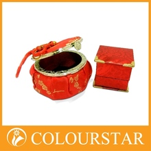 impressive and most popular high quality folding paper box use gold card paper
