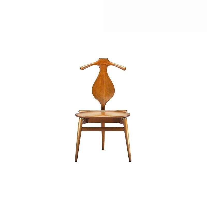 valet chaise cadre en bois manger chaise visiteur chaise pour la maison ou office_pp mobler - Valet Chaise Bois