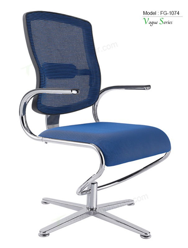 Triumph 2015 High Quality Easy Move Aluminum Foot Office Chairs Fixed Without