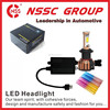 Hot selling H4 9005 9006 H11 H3 P13 880 881 24W lead headlight types with super quality car led headlight for fortuner