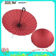 migliore qualità più popolari dritto ombrello struttura di legno