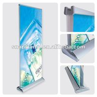 The Easy Carry freestanding retractable banner.roll up stands.roll up stands size