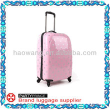 PC-08121 silver dot luggage stock for sale in 20 ,24 ,28 inches various colors