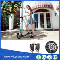 HOT fashion foot pedal kick scooters/ electric unicyle mini scooter