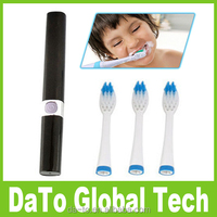 Fashion Waterproof Electric Toothbrush With 3 Brush Heads Replacement for Adult Child