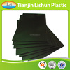 fluted reusable pp corrugated black antistatic sheet
