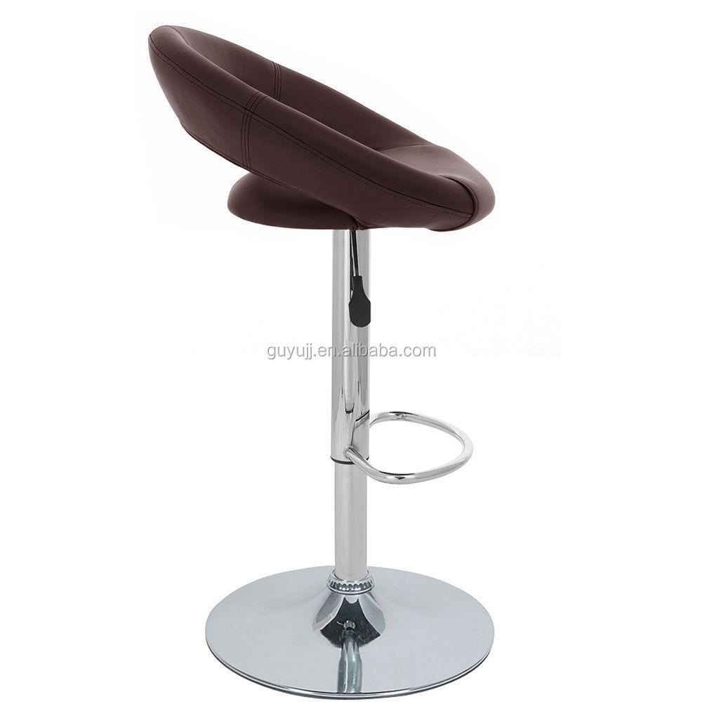 y 1039b ronde. learther réglable chaise de bar chaise haute de ... - Chaises Hautes De Cuisine