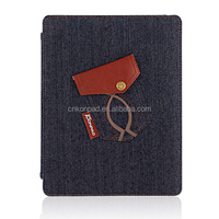Jeans series For iPad Case, fabric Case For iPad