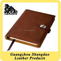 OEM/ODM Supplier Excellect Handmade Leather Cover For Notebook