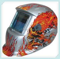 sliver flame picture welding helmet decorative diving helmet