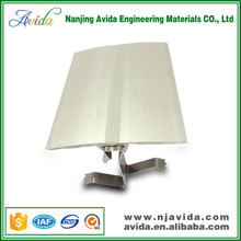 Architectural metal wall expansion joint in building
