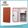 2015 new leather journey long passport case credit card ID holder