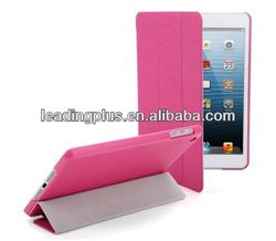 Hot sale for Ipad mini smart cover ,smart cover for Ipad mini with 4 folding fuction