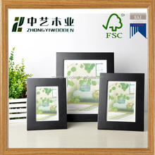 china factory suppliers selling FSC&SA8000 office desktop standing wooden photo picture frame for shopping