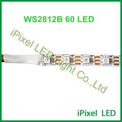 5050rgb ws2812b 60 pixel led strip ,5v,12w