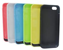 Portable External backup 2200mah battery case for iPhone 5,for iPhone 5s,for iPhone 5c 3 in 1