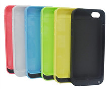 Portable External backup 2200mah battery case for iPhone 5,for iPhone 5s,for iPhone 5c 3 in 1