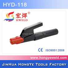 Italy type pipe welding electrode holder 500a for handle anti-scald