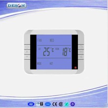 Compact Central Air Conditioner Digital HoneyWell Thermostat with LCD Display , Room Temperature Controller Series DS-9B