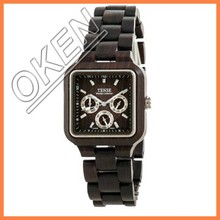 Bamboo Wood Watch Handcrafted From Sustainable Bamboo And Wood W-8829