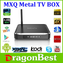 Amlogic S812 Quad Core Google Android 4.4 Android Tv Box M10 2GB/8GB Kodi Bluetooth Dual-band Wifi 4k 2k support