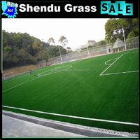 artificial sports surface with PE monofilament grass material