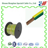green yellow ground earth wire