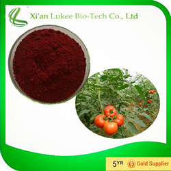 2015 new arrival tomato extract lycopene cosmetic raw material