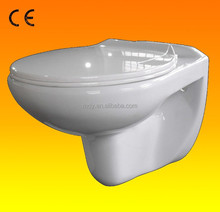 CE certificated sanitary ware wall hung wc, wall hung toilet, wall hung water closet