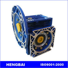 China Manufacturer RV Series Flange Mounted Worm Gear Reducer