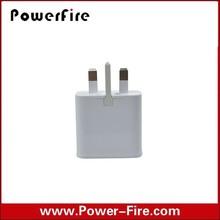 High quality Single usb 5v 1a UK plug wall mount usb charger for iphone 6