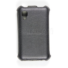 Concise design 100% perfect fit pu mobile phone cover for lg optimus l4 ii dual e445