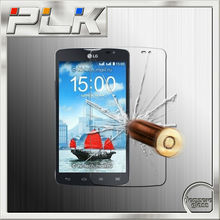 China mobile phone spare parts glass screen guard for lg l40