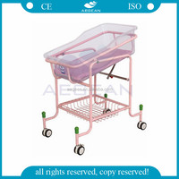 AG-CB010 With ABS basin hospital economic dirt bike baby cot mobile