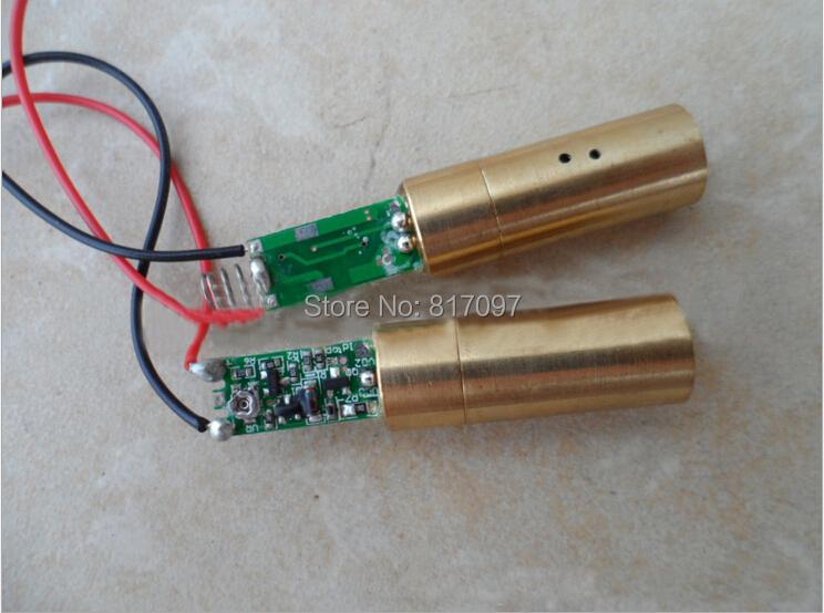 Купить Мощный Лаборатория Лазерной DIY 200 МВт Зеленый Лазерный Модуль 532nm Лазерный Диод Show Lighting