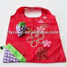 factory directly sell high quality Polyester shopping folding bag