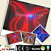 2014 new products flex led neon rgb neon strip manufacturer