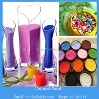 bulk decorative colored silica sand