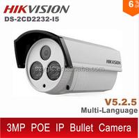 Original Hikvision DS-2CD2232-I5 IP camera 3MP V5.25 English POE cam CCTV 1080P outdoor ds-2cd2232 ds 2CD2232- i5 ds-2cd2232