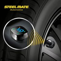 2015 Steelmate TP-76B car led Wireless DIY tpms digital waterproof auto gauges,tpms diagnostic,tire valves
