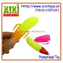 2015 Plastic banana shape lovely promotion kids pen
