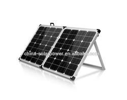 2015 40W 60W 80W 100W foldable solar panel monocrystalline for 12V battery