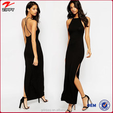 Halter Strappy Back Maxi Dress dance dress party, girls without dress sex picture