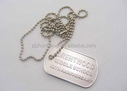 2015 cheap blank metal tag/ shenzhen 2014 new arrival bulk dog tags/ metal bone pet name dog tag
